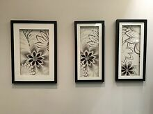 3 art images in frames Como South Perth Area Preview