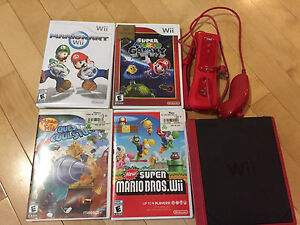 Nintendo Wi with games