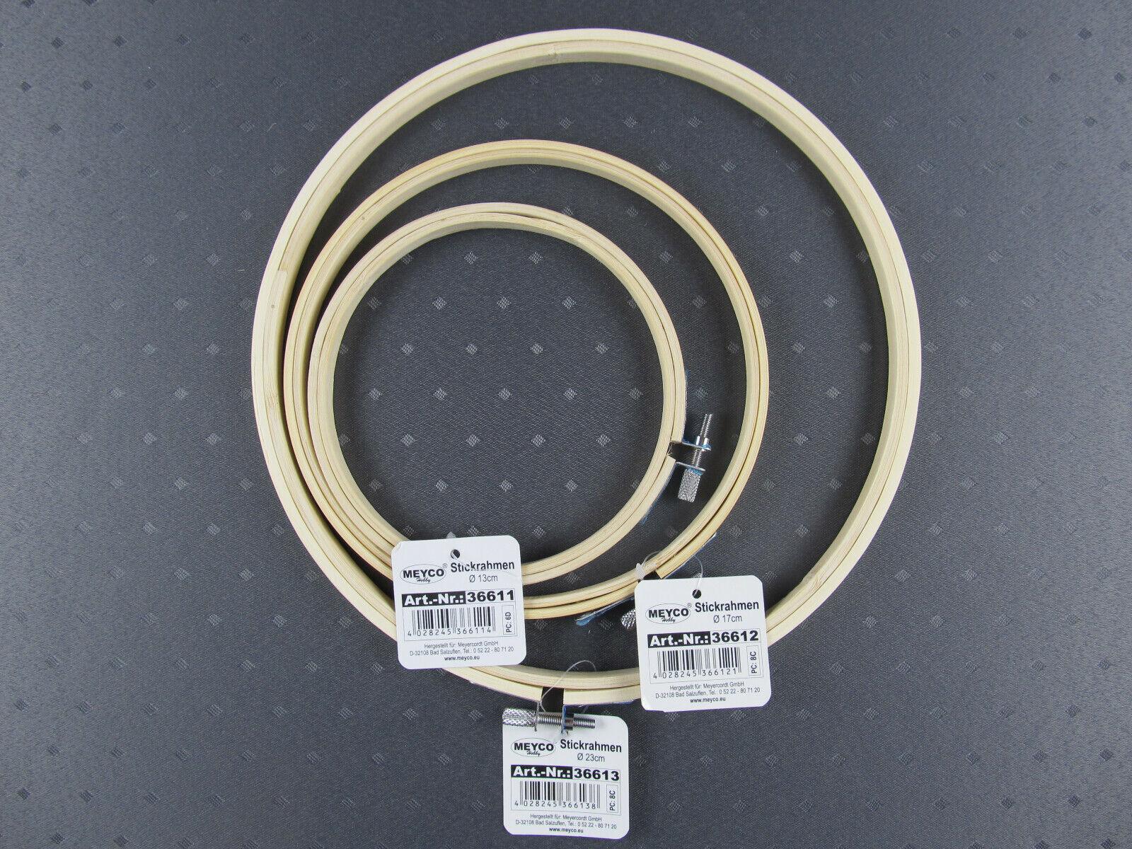 Stickring Stickrahmen Rahmen Holzringe Für Stickerei Holzfarbe Rund 10-30cm