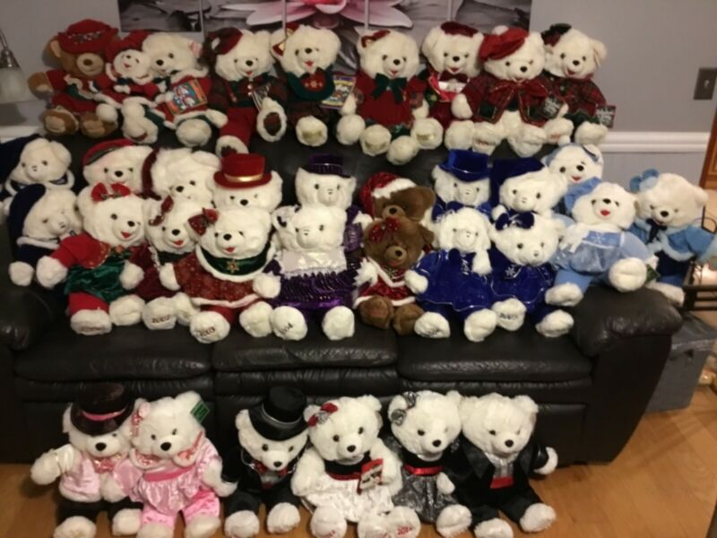 WALMART SNOWFLAKE CHRISTMAS BEAR FRIENDS Collection or in Pairs