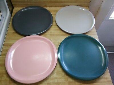 Vintage Boonton square round plates