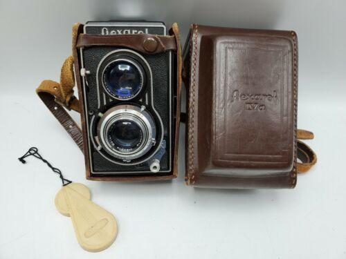 Meopta Flexarel IV TLR 120 Film Camera + 35mm Adapter Belar 80mm F3.5 Lens *READ