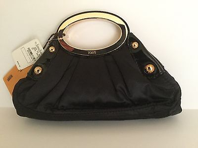 AUTH TODS PASHMY POSHETTES MARICI OVALI CLUTCH. NWT.RETAIL $995.00