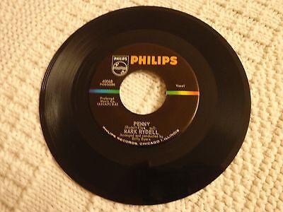 TEEN MARK RYDELL PENNY/GOODBYE  PHILIPS 40068  M-