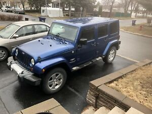 2010 Jeep Wrangler Sahara 4dr Unlimited
