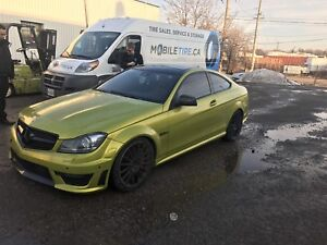 Mercedes benz C63 Coupe P31 performance package mint clean