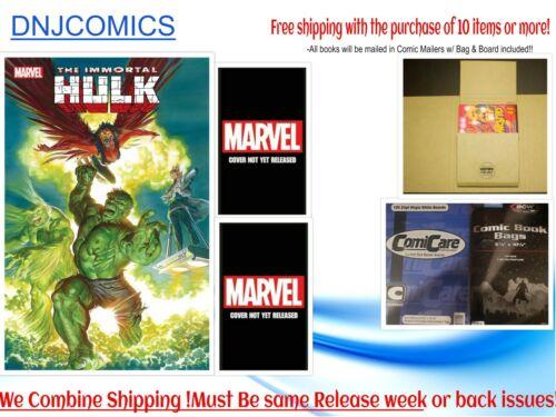 Immortal Hulk # 46  NM Covers ABC Marvel Comics Pre-sale 05/05 2021
