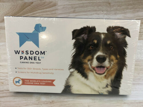 Wisdom Panel 3.0 Canine DNA Test Dog DNA Test Kit Breed and Ancestry Information