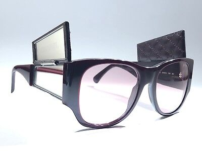 VINTAGE CHANEL 5202 HIDDEN MIRRORS QUILTED LEATHER FRAME LENS 90'S MADE IN ITALY