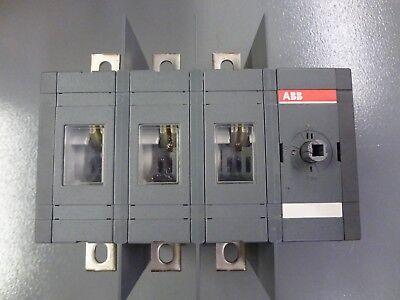Abb Ot200u30c 200a Double Throw Switch Transfer Switch 600vac