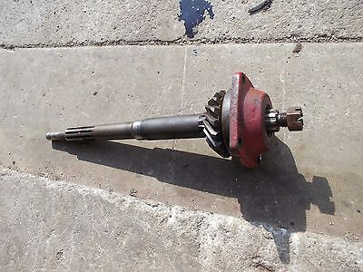 Massey Harris 22 Tractor Orginal Mh Input Drive Shaft Belt Pulley Drive Gear