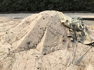 Free 5 tonne sand from my front yard