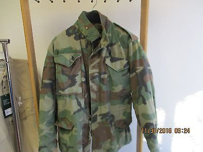 M65 Field Jacket Small Regular with LINER  Woodland Camo - ITEM#1