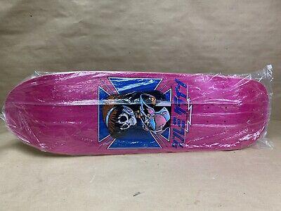 JK Industries Dream Tony Hawk Pink Skateboard Deck Hook-ups Jeremy Klein