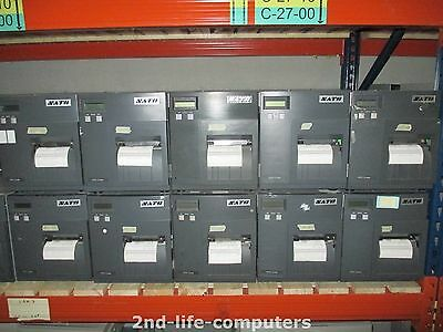 SATO CL408E Direct Thermal Transfer Label Printer PARALLEL REWINDER 4882,4 METER