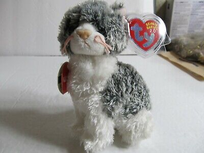 Ty 2.0 Beanie Baby ~ CRICKET the Cat (6 Inch) unscratched code