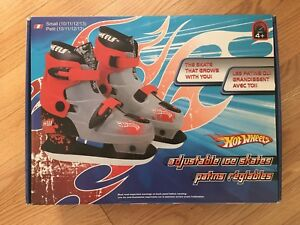 Hot Wheels Adjustable Skates
