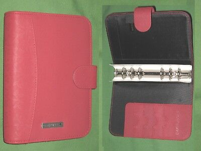 Compact 1.0 Red Floral Day Runner Planner Harmony Binder Franklin Covey