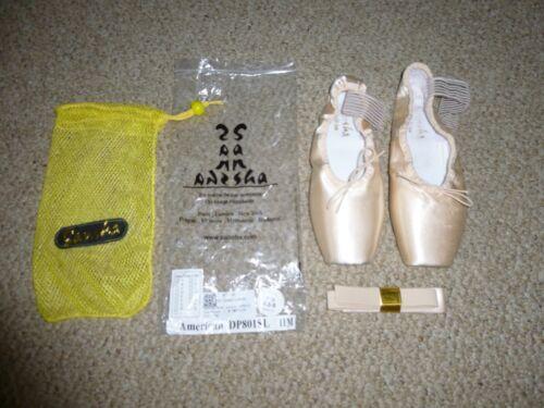 GC Sansha Demi-Pointe AMERICAN SOFT-TOE DP801SL Ballet Shoes-Size 11M / 8.5-9 US