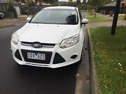 2012 Ford Focus LW ambiente 1.6L White Epping Whittlesea Area Preview