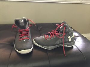 Size 8 under armour basketball shoes