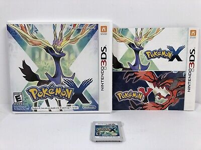 Pokemon X (3DS, 2013) Very Good Condition, Manual Included, Tested Working