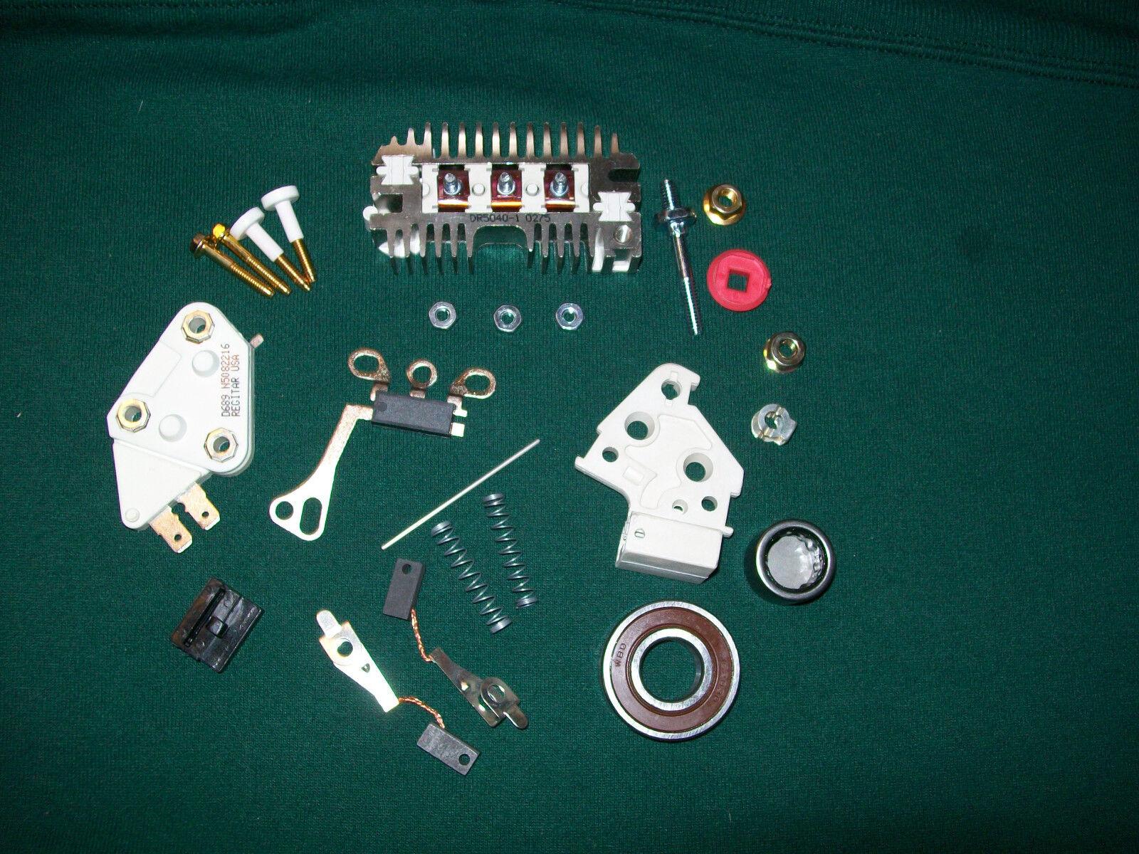 10SI Delco Alternator 1 Wire Self Excited Regulato.. in eBay Motors ...