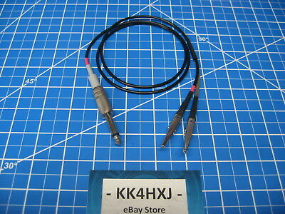 Custom Signal Generator Test Lead - Heathkit Sg-6sg-7 - Rg174 Thin Cable