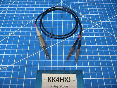 Custom Signal Generator Test Lead - Heathkit Sg-6sg-7 - Rg174 Thin Cable