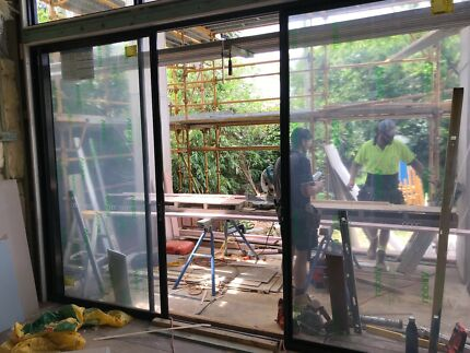 Aluminium Sliding door & Byfold doors aluminium white | Building Materials | Gumtree ...