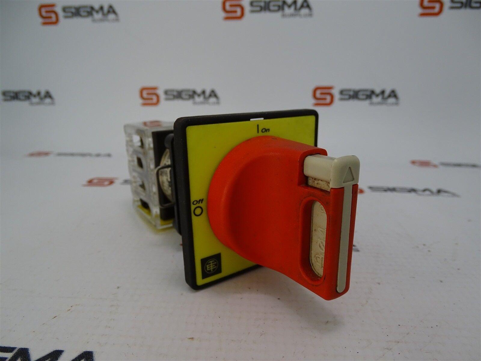 Telemecanique K2C003H, 2-Position On/Off Switch, 300V, 12A