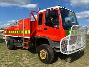 Isuzu FTS750 4x4 4000 Litre Forest Fire Fighting Truck. Gaam pump. Inverell Inverell Area Preview