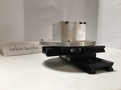 Physik Instrumente 90mm X 250mm Stage Rails Carrier Platform Block Aluminum