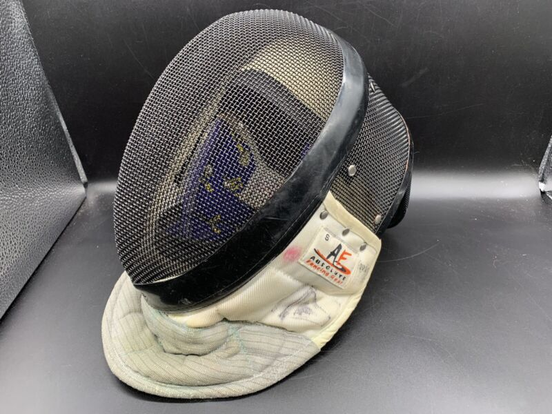 AF Absolute Fencing Gear Helmet Face Mask Model 11001 Standard 3W Size S Small