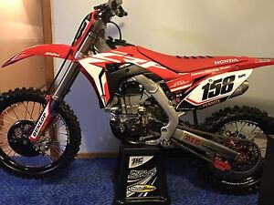 2017 Honda CRF450R Stowport Burnie Area Preview