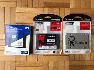 SSD drives new 240gb 250gb