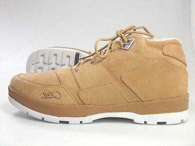 K1X #27314 Hike Boots Sneaker Freizeit Stiefel Schuhe Herren Gr. 46 Hellbraun gebraucht kaufen  Bremen