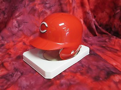 CINCINNATI REDS MINI BATTING HELMET MLB  W/ DISPLAY STAND Cincinnati Reds Mini Batting Helmet