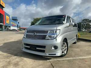 2008 Nissan Elgrand ME51 Highway Star Dual Sunroof 8 Seater Wagon Thomastown Whittlesea Area Preview