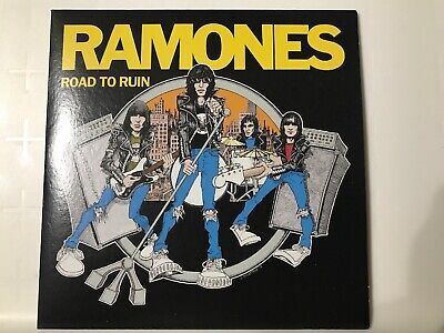 rare pop 80s 70s CD sleeve RAMONES Road To Ruin I JUST WANT SOMETHING TO DO