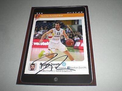 Bastian Doreth Basketball signed signiert autograph Autogramm auf Autogrammkarte