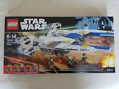 LEGO Star Wars 75155 - Rebel U-Wing Fighter - Brand New Factory Sealed.
