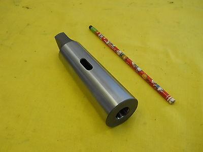 TTC 4MT Socket to 5MT Sleeve Hardened /& Ground Steel Drill Sleeve
