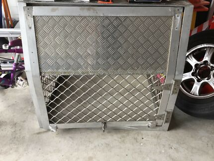 Dog cage for ute