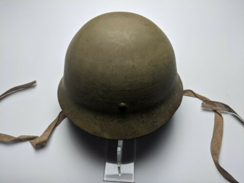Original Japanese Civil Defense Helmet - 100% Complete
