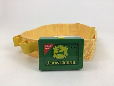 Doe Deere Halloween (John Deere Talking Tool Belt Toy Halloween Costume with Batteries Learning)