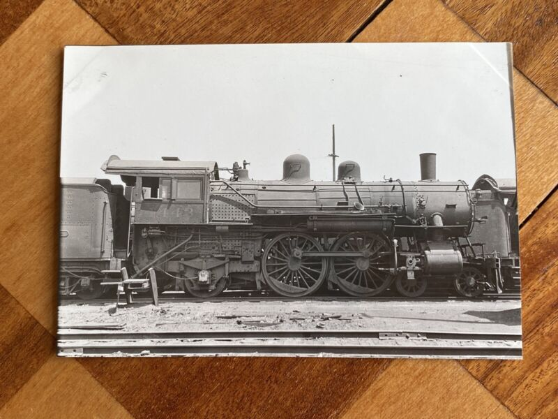Chicago North Western Railroad Locomotive 1443 Vintage Photo C&NW