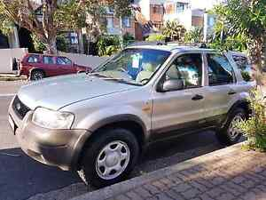 Ford Escape 4x4 V6  , Set up for travelers/back packers. Manly Manly Area Preview