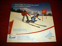 Raro Catalogo Ufficiale Biglietti Olimpiadi Torino 2006 Brochure Rare -  - ebay.it