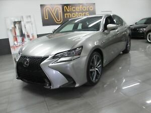 2016 Lexus GS 350 F-sport - NAVI, RED LEATHER -
